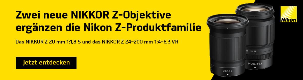 Banner Nikkor-Z Objektive