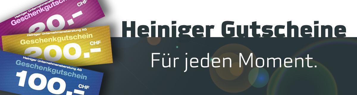 HeinigerAG.ch Gutscheine