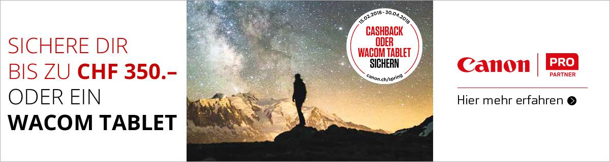 Canon Kamera Cashback Aktion bei HeinigerAG.ch