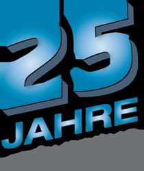 Logo 25 Jahre Erfahrung