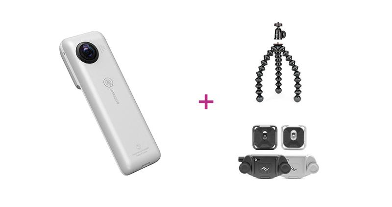 4. Platz: Insta360 Nano S 4K 360° Kamera, silber