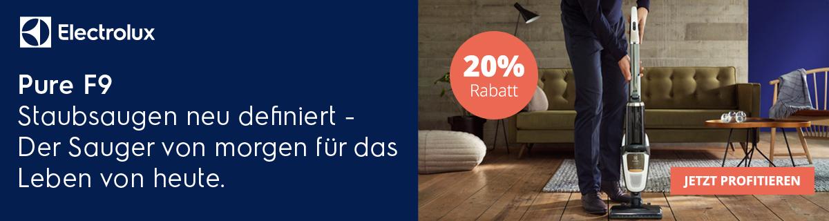 Electrolux Pure F9 20% Rabatt Aktion