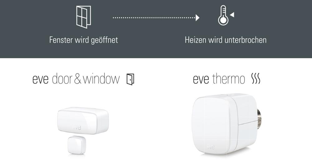 Eve Markenshop – Eve Door & Window und Eve Thermo: Smart heizen. Energie sparen.