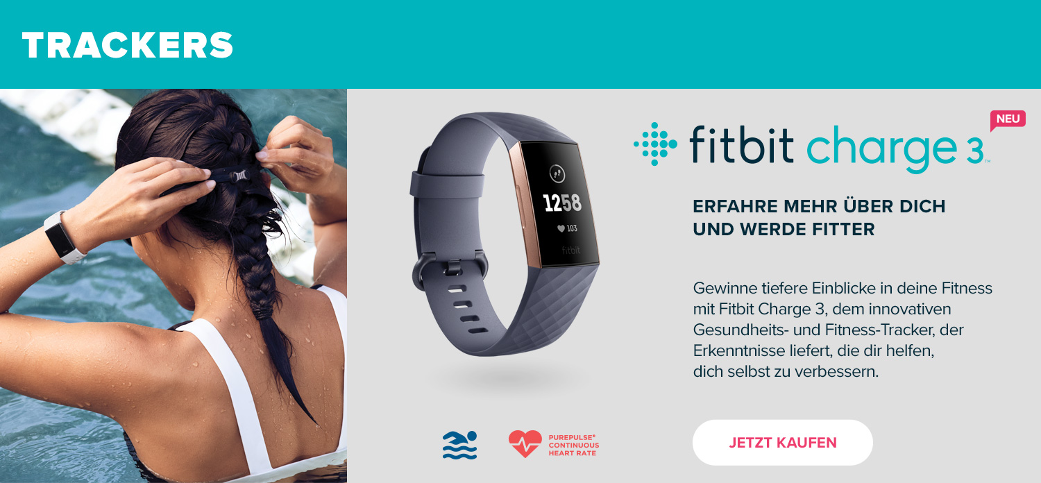 Fitbit Markenshop – Fitbit Charge 3