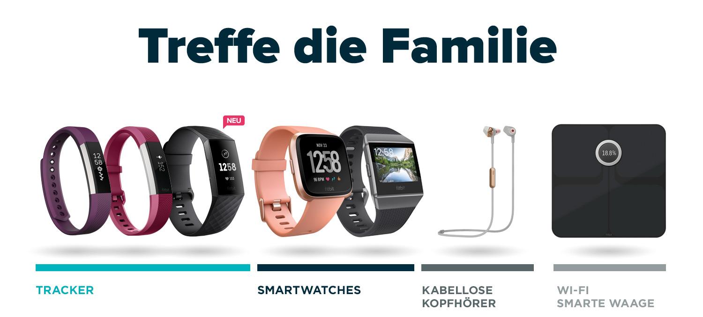 Fitbit Markenshop – Produktfamilie