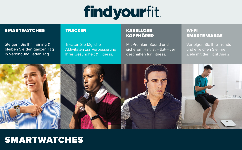 Fitbit Markenshop – findyourfit