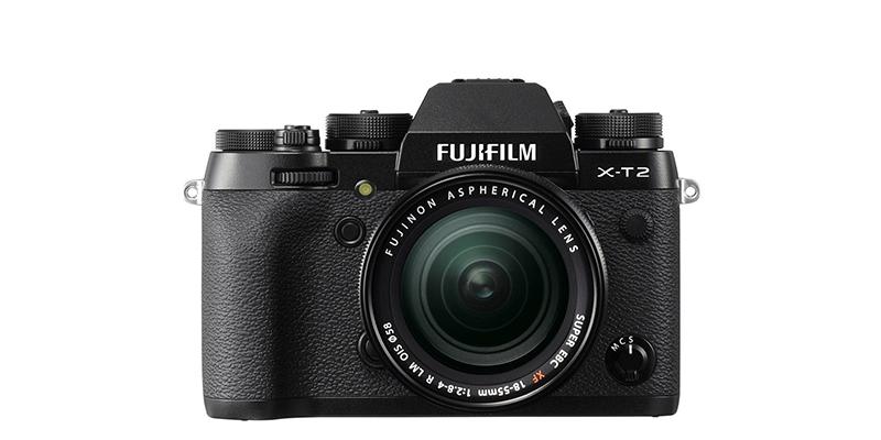 FUJIFILM X-T2 Kit mit XF 18-55mm 1:2.8-4 R LM OIS, schwarz