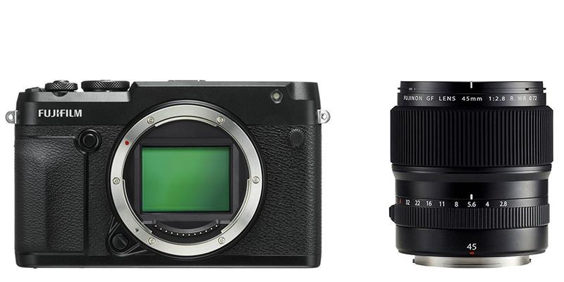 GFX 50R Kit GF 45mm F2.8 R WR