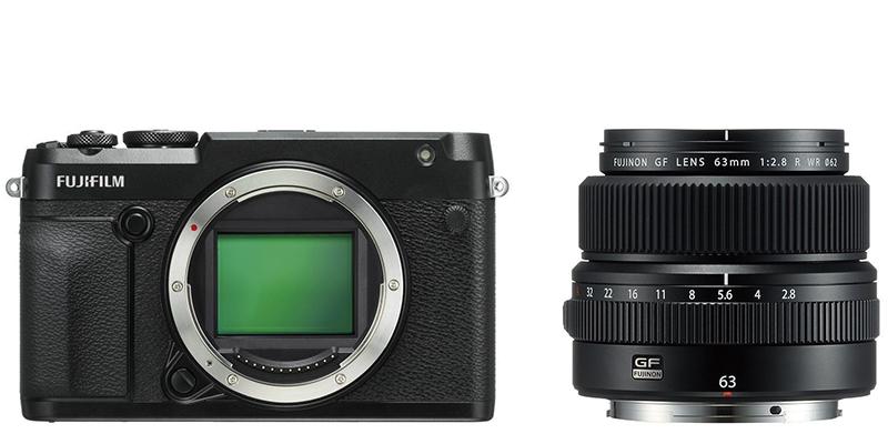 GFX 50R Kit GF 63mm F2.8 R WR