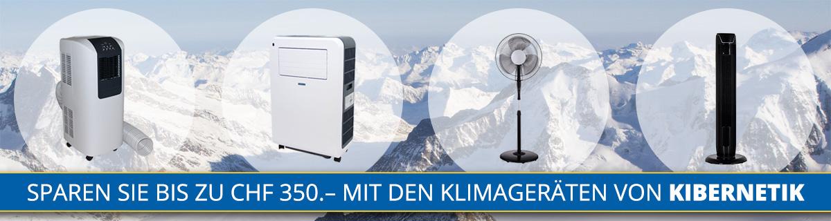 Klimageraete von Kibernetik bei HeinigerAG.ch