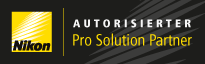 Logo Nikon Pro Solution Partner Partner