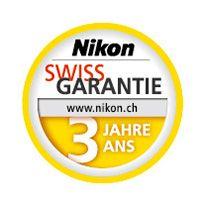 Nikon Swiss Garantie Logo