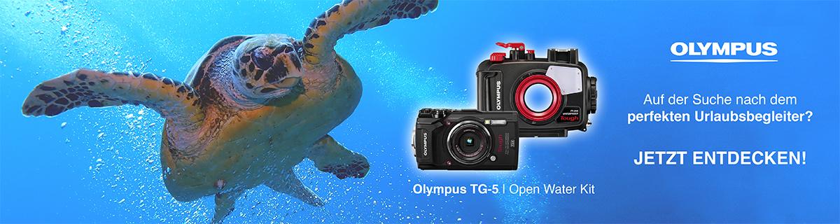 Olympus TG-5 Open Water Kit bei HeinigerAG.ch