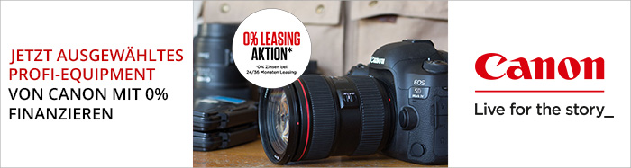 Canon Leasingpromotion