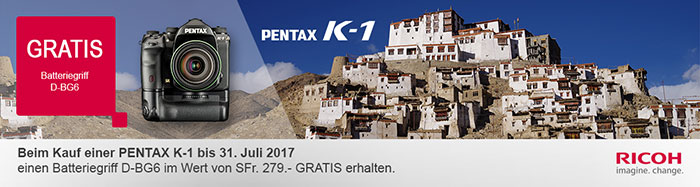 Pentax K1 Aktion