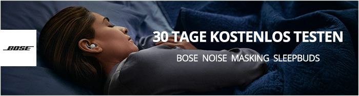 Bose Sleepbuds Testaktion