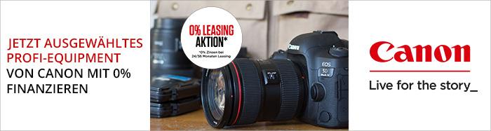 Canon Leasingpromotion