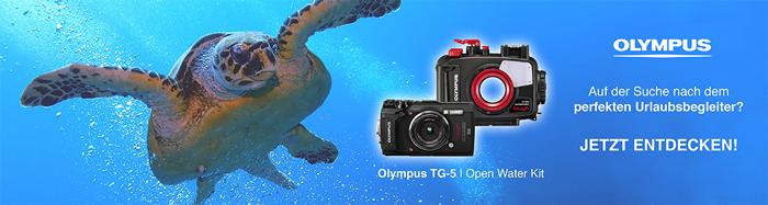 Olympus Tough TG-5 Open Water Diver Kit, Schwarz
