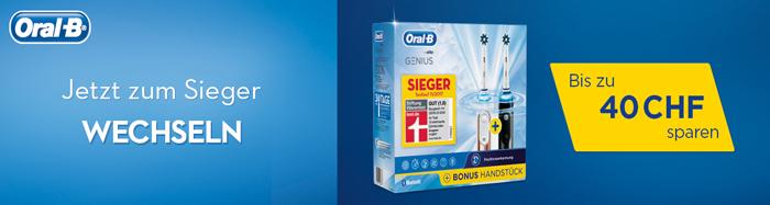 Oral-B Cashback Aktion bei HeinigerAG.ch