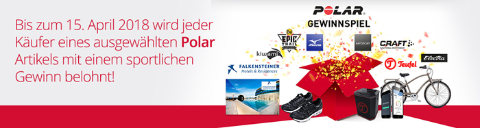 Polar Gewinnspiel Aktion bei HeinigerAG.ch