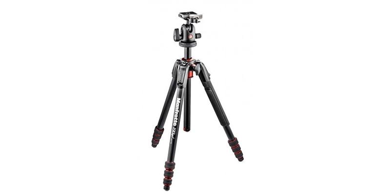 Manfrotto Mini Pro 190 GO! Alu Kamerastativ, mit 496RC2 Kugelkopf