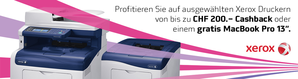 Banner Xerox Cashback